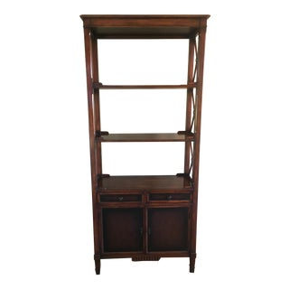 Hickory White Furniture Bookcase/ Étagère For Sale