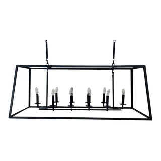 """Restoration Hardware Atwell Linear Chandelier 54"""" For Sale"""