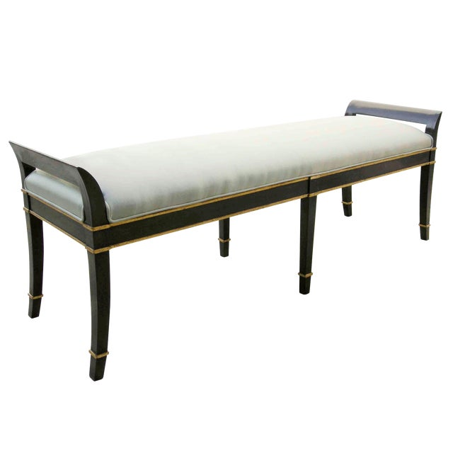 Long Sutton Place Designer Bench by Randy Esada Designs For Sale