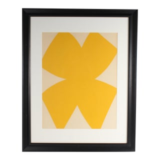 Ellsworth Kelly 1958 Lithograph From Derriere Le Miroir, No. 110 For Sale