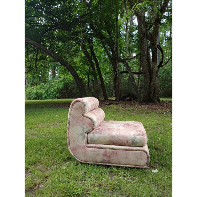 This is a totally tubular '80s chair!. Surprisingly comfortable to sit in, but buy it because it's going to look so...