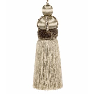"""Key Tassel With Cut Ruche - Tassel Height - 5.75"""" Preview"""