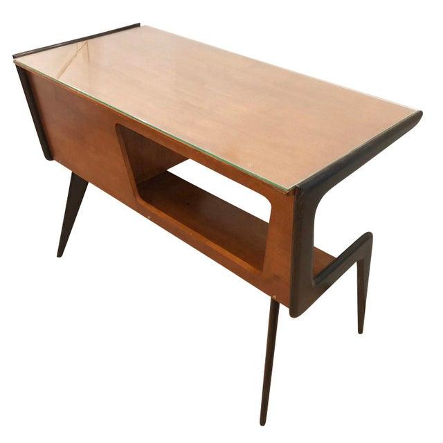 Mid 20th Century Italian Mid-Century Desk in the Manner of Silvio Cavatorta For Sale - Image 5 of 8