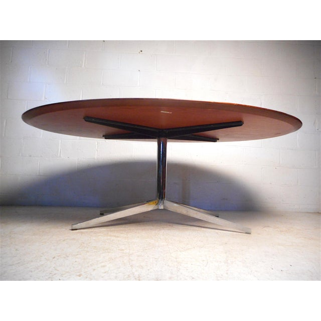Knoll International Midcentury Dining Table by Knoll For Sale - Image 4 of 13