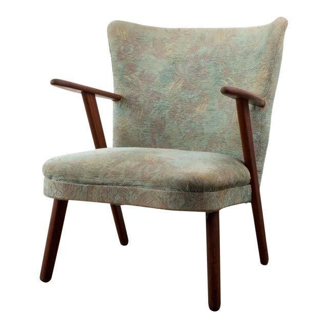 1940s Fritz Hansen Danish Mid Century Teak Easy Chair Chairish