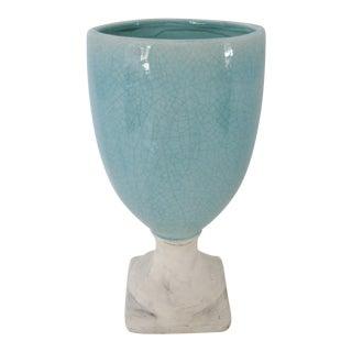 Ceramic Glazed Urn Vase