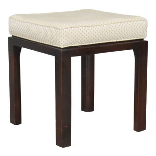 Mid-Century Modern Ottoman in Mahogany by Harvey Probber For Sale
