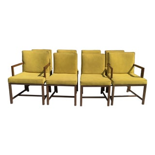 Michael Taylor for Baker, Dining Chairs, S/8 For Sale