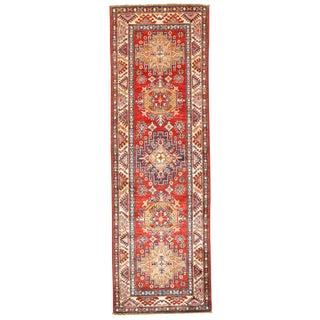 "Pasargad N Y Pak Kazak Lamb's Wool Rug - 2' X 6'3"""
