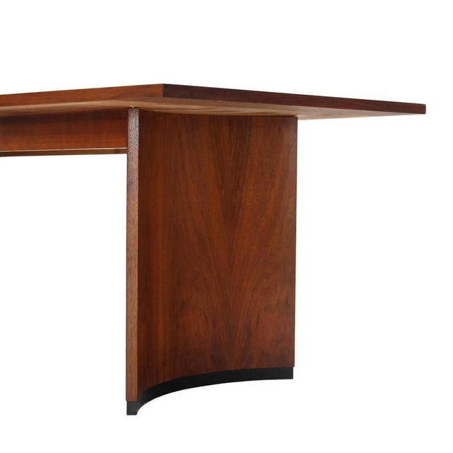 aca22d4d8f70 Mid-Century Modern Very Nice Mid-Century Modern Walnut Dining Table with Two  Extension