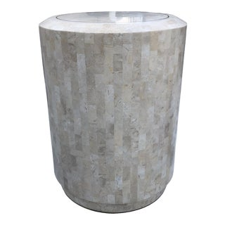 Maitland Smith Tessellated Marble Table For Sale