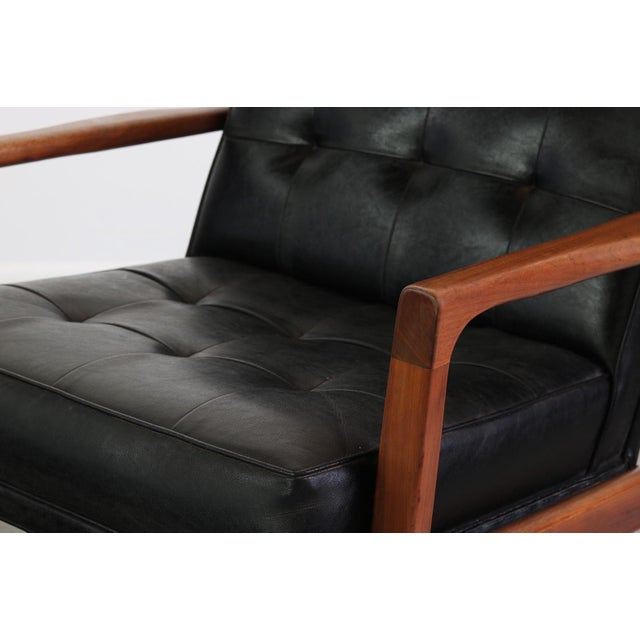 1960s 1960s Vintage Milo Baughman for James Inc High Back Lounge Chair For Sale - Image 5 of 6