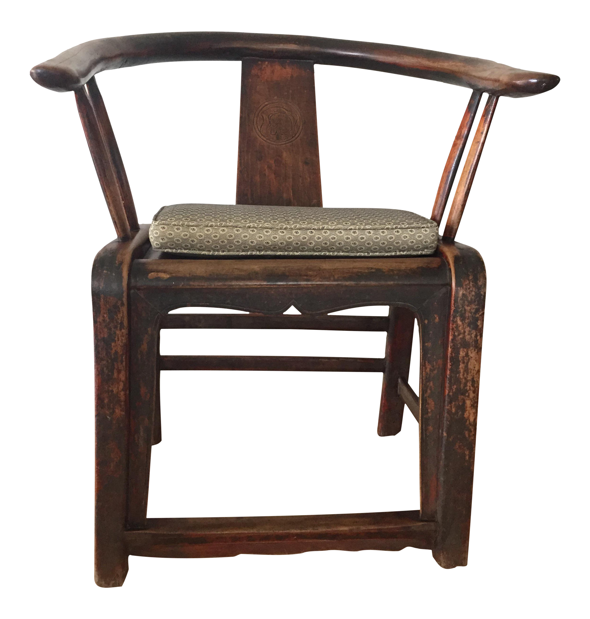 Traditional Chinese Horseshoe Chair