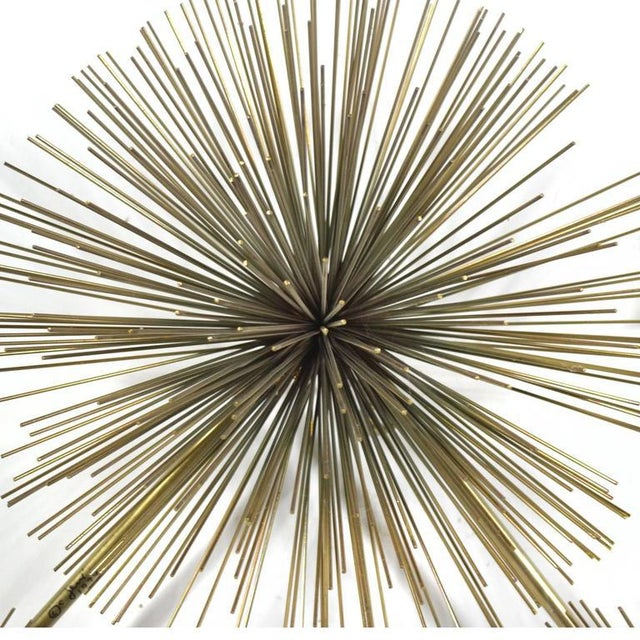 Curtis Jere Five-Burst Wall Sculpture For Sale - Image 9 of 10