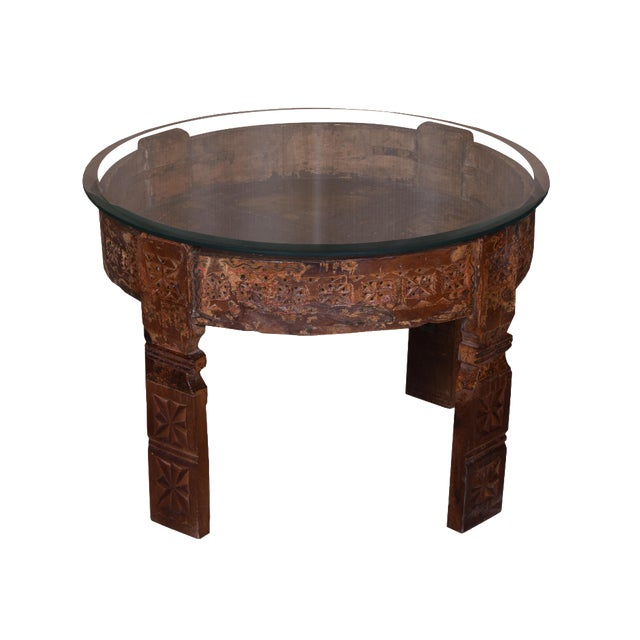 Madilynn Glass Top Coffee Table For Sale