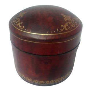 Indian Leather Trinket Box
