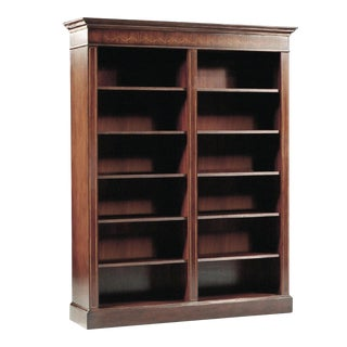 Scarborough House Elegant Mahogany Bookcase For Sale
