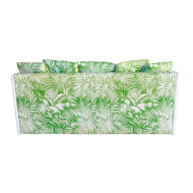 Ficks Reed Vintage Palm Leaf Sofa - Image 3 of 5