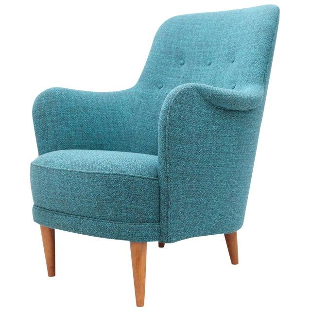 "Carl Malmsten ""Samsas"" Lounge Chair For Sale"