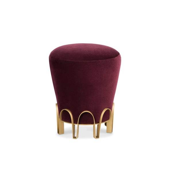 Contemporary Nui Stool From Covet Paris For Sale - Image 3 of 8