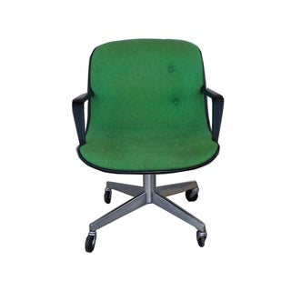 Mid-Century Modern SteelCase Vintage Green Office Chair For Sale