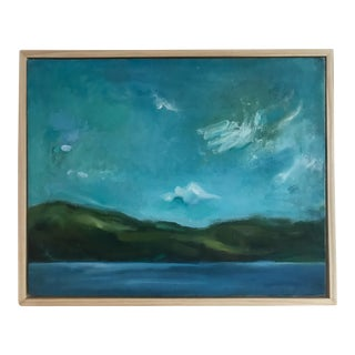Mid 20th Century Seascape Painting, Framed For Sale
