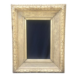 Circa 1860 European Gold Guilded Frame For Sale