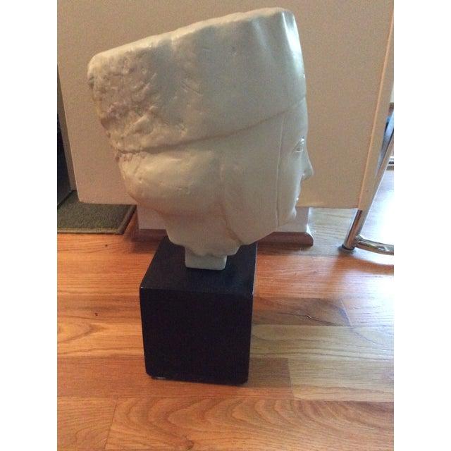 1960s Vintage Alva Studios Woman's Head Sculpture For Sale In Charlotte - Image 6 of 11