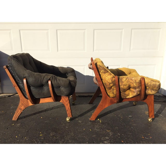 Sculptural Mid-Century Claw Chairs - A Pair - Image 10 of 10