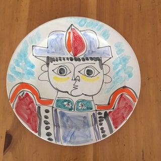 "DeSimone Mi- Century 10 "" Pottery Charger Preview"