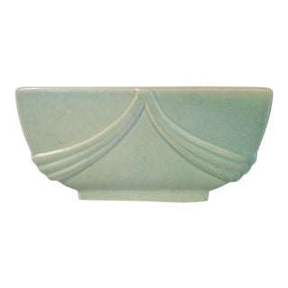 Tiffany Blue Art Deco Candle Holder