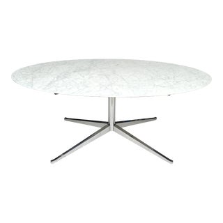 "72"" Florence Knoll Marble Dining Table Knoll For Sale"