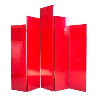 Post Modern Folding Screen For Sale