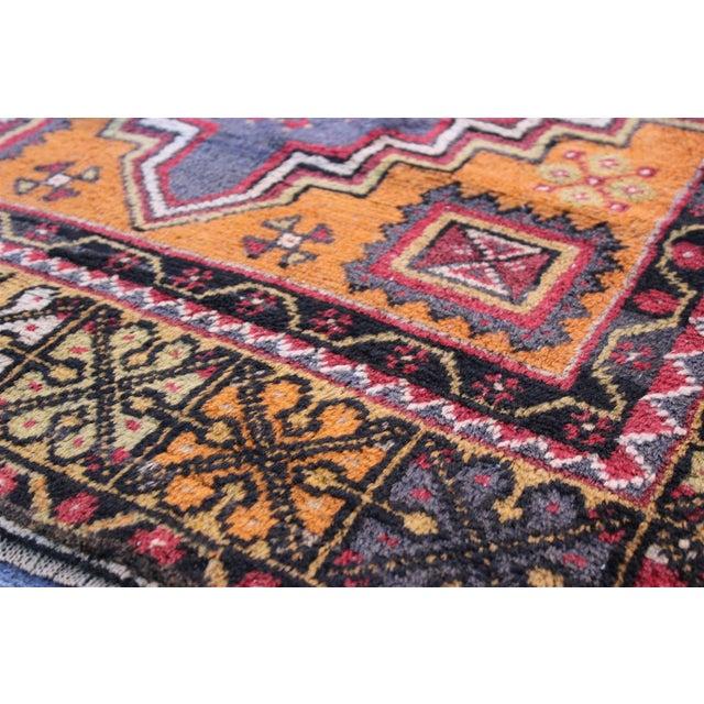 "Textile Turkish Anatolian Konya Rug - 3'8"" X 6'4"" For Sale - Image 7 of 10"