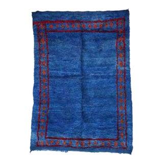 "BENI M'GUILD Vintage Moroccan Rug, 6'7"" x 9'2"" feet"