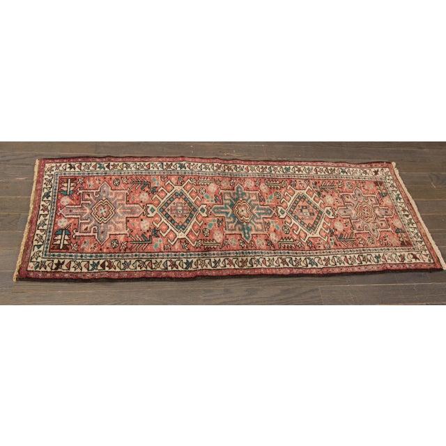 Apadana - Vintage Persian Heriz Rug, 2' x 5' - Image 2 of 5