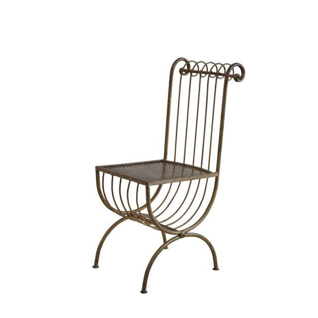 Hollywood Regency Vanity Chair - Image 1 of 2