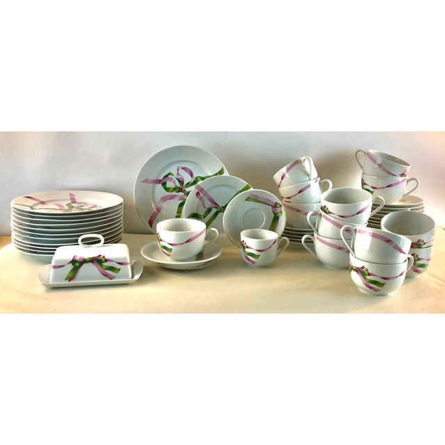 Vintage Jacques Coeur Dinnerware-Set of 49 For Sale - Image 13 of 13