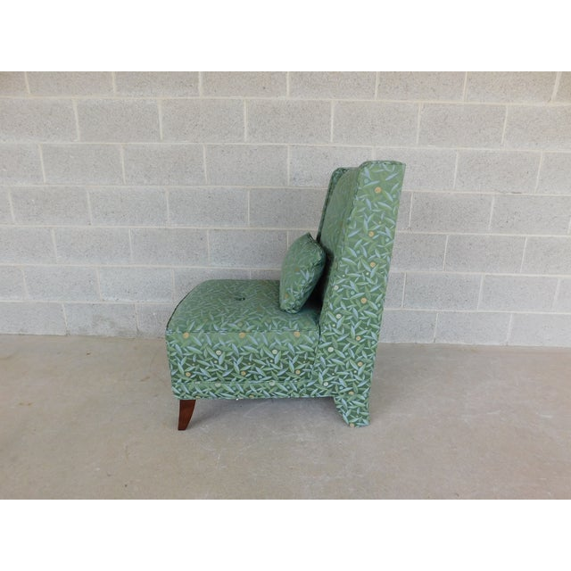 Baker Furniture Company Baker Regency Style Slipper Chair For Sale - Image 4 of 13