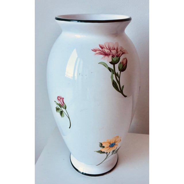 Tiffany Co Sintra 105vase Hand Painted Flowers Chairish