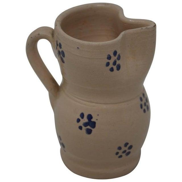 Vintage Puglia Apulia Italy Ceramic Pitcher For Sale In Houston - Image 6 of 6
