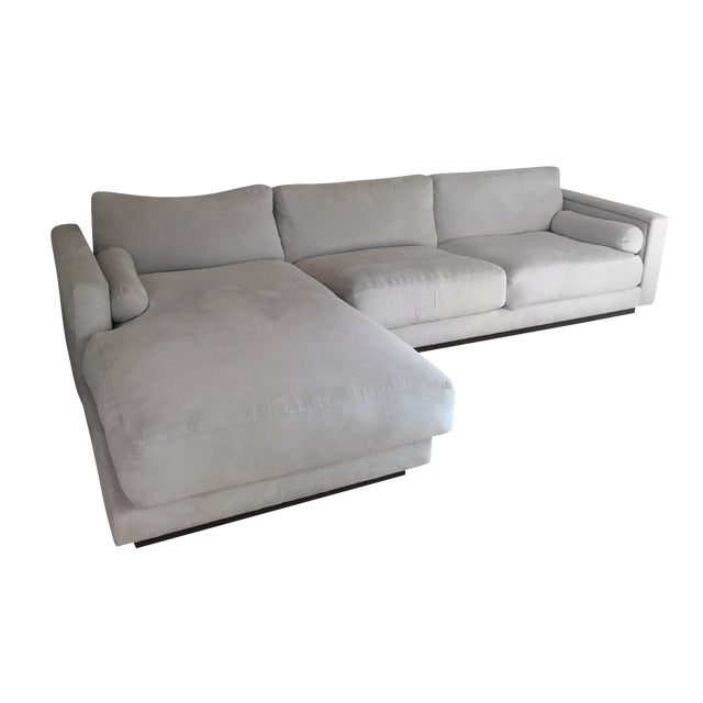 Off White Sectional Sofa - Image 1 of 9