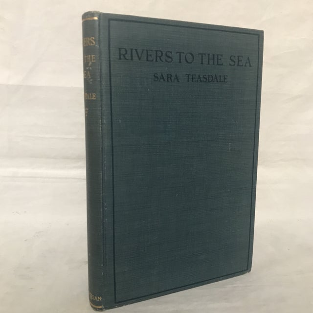 """1920s 1926 """"Rivers to the Sea"""" First Edition Book For Sale - Image 5 of 5"""