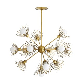 Sputnik Inspired Arteriors Murphy Chandelier For Sale