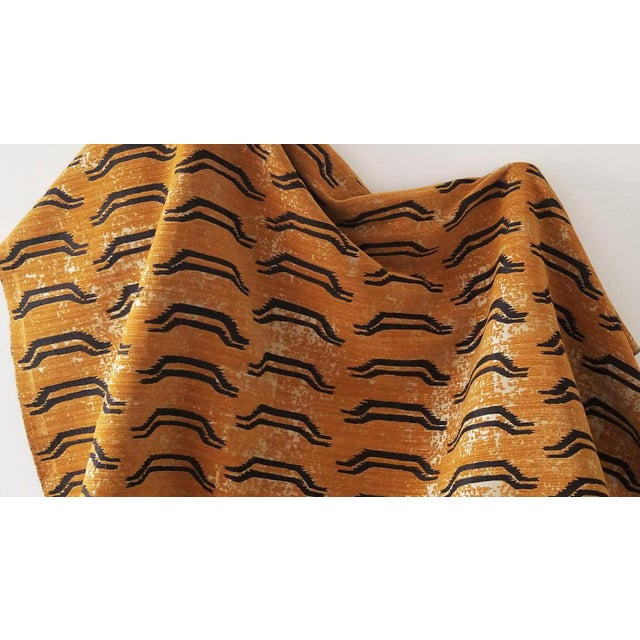 """(Nepali for """"tiger"""") Like an antique find on the road to Kathmandu, Bagha is inspired by traditional Tibetan tiger rugs...."""