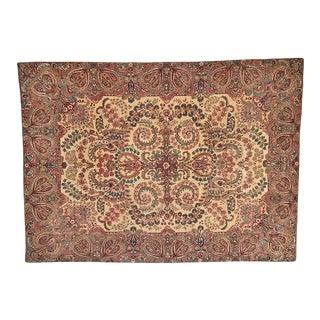 1910s Vintage Leon Banilivi Persian Lavar Kerman Rug For Sale