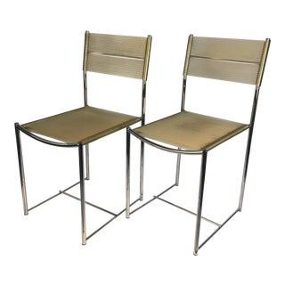 1970s Alias Italian Chairs - a Pair For Sale