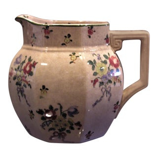 1930s Vintage Royal Doulton Old Leeds Sprays Milk Jug For Sale