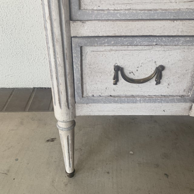 20th Century French Painted Commode For Sale - Image 10 of 13