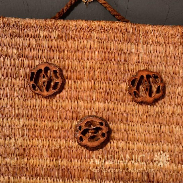 Wall Hanging Native American Woven Bag For Sale - Image 4 of 5